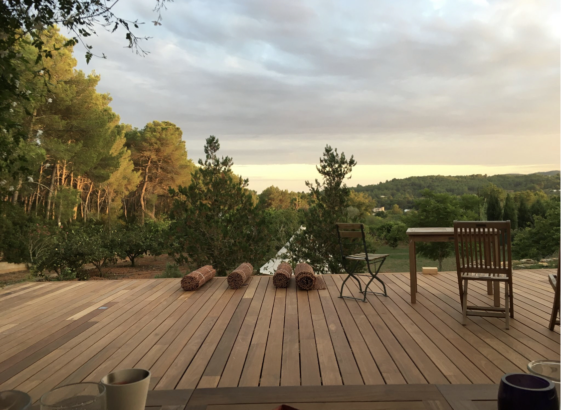 Terrasse en bois Ibiza