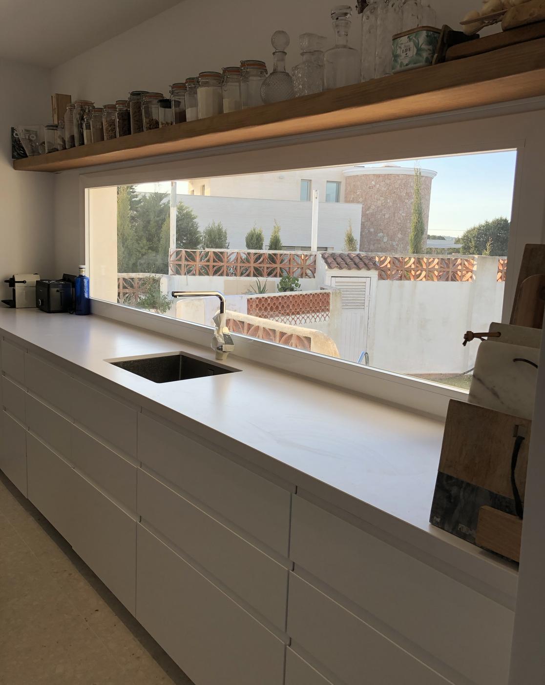 Cuisine rénovée à Ibiza